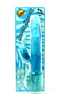 Jungle Jiggler Bird Rabbit Vibrator - Blue