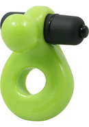 Glo Glo A Go Go Nuclear Lime Glo Ring Cock Ring Waterproof...